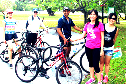 City Cycling Amazing Race Singapore